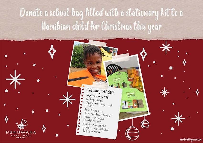 Gondwana Care Trust school bags