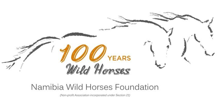 100 years wild horses logo