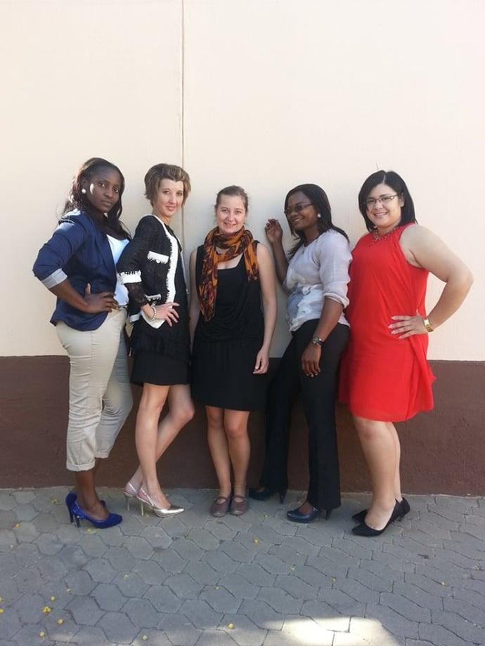 F.L.T.R Wilka, me, Sigrid, Roman, Anthea
