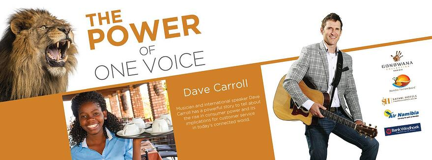Dave Carroll and the power of one voice