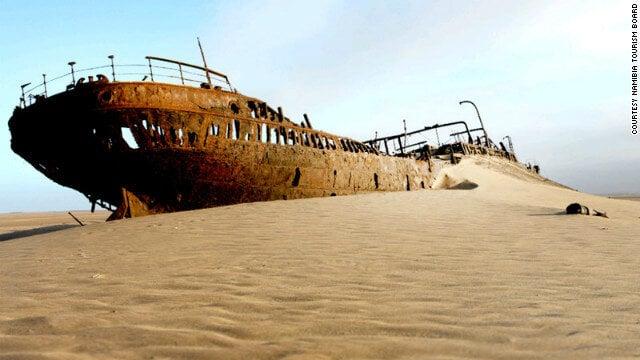 """""""Namibia skeleton coast ship story"""""""