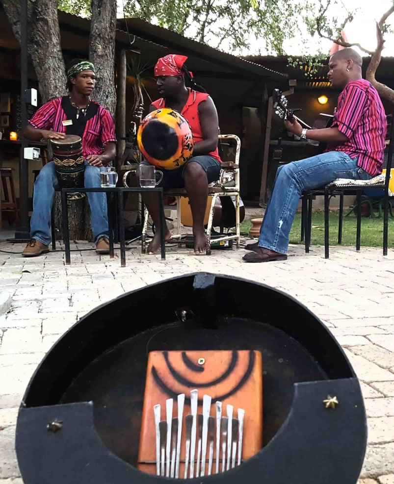 Mbira, Etosha Boys, Etosha Safari Camp, Nyati