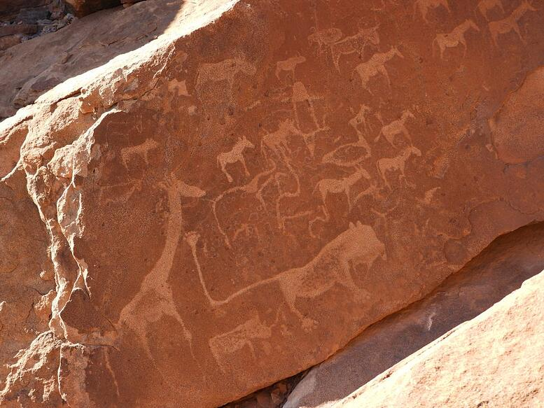 Rock engravings at Twyfelfontein_ Gondwana Collection