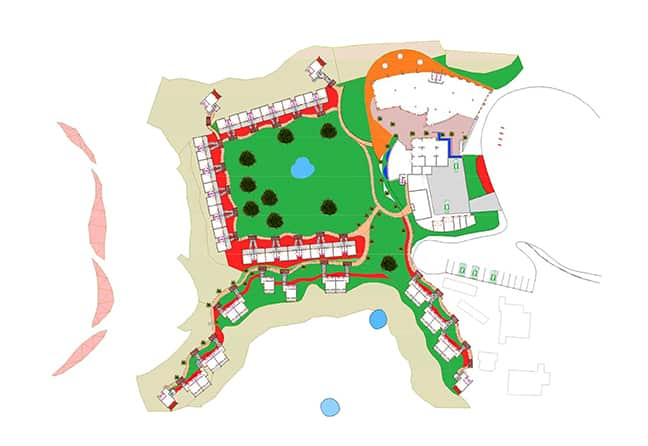 The concept design for the alterations and renovation works at Kalahari Anib Lodge. (Sven-Erik Staby)