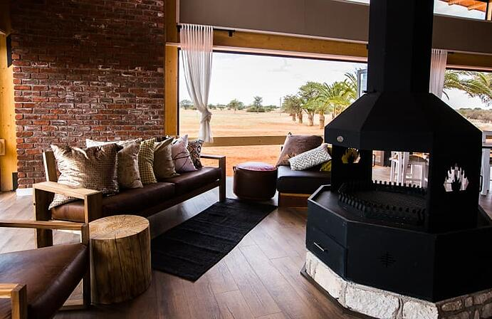 Kalahari Anib Lodge is a relaxed and down-to-earth stopover for a taste of Kalahari.