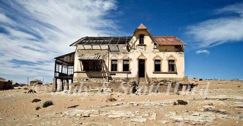 Kolmanskop - Rights to Judy & scott Hurd