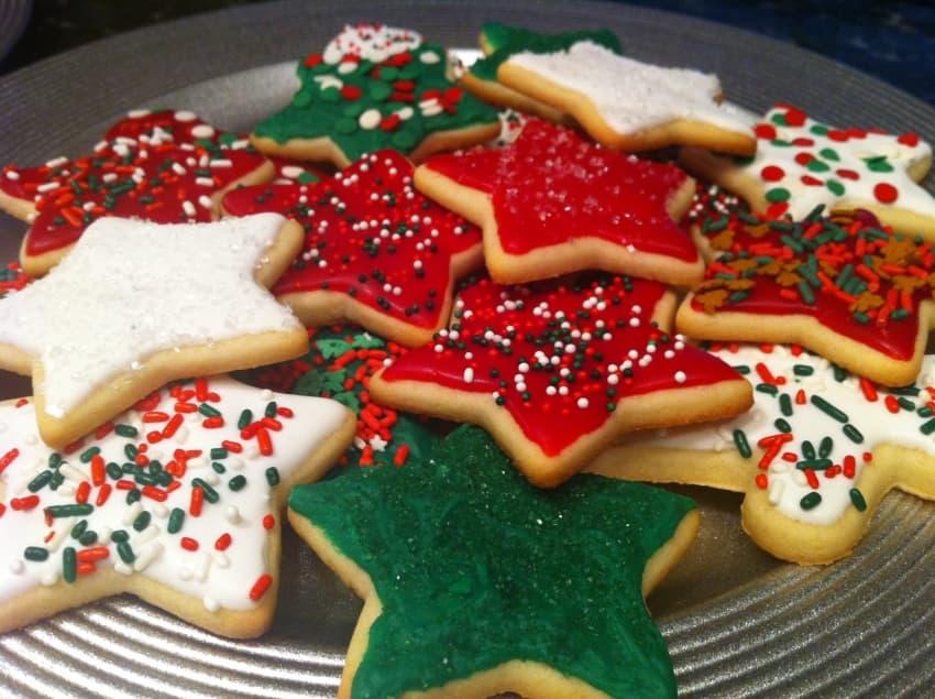 Christmas sugar cookies - Image: Maximized living