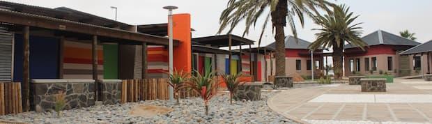 Arts and crafts Centre in Swakopmund.