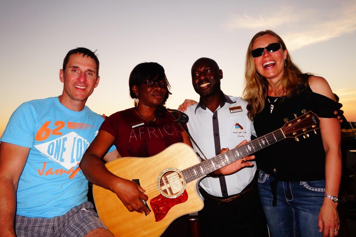 Guitars in Namibia