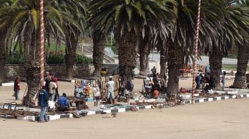 Street Market in Swakopmund.