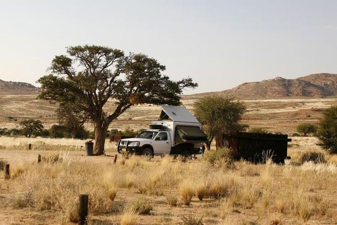 Desert Horse Campsite at Klein Aus Vista