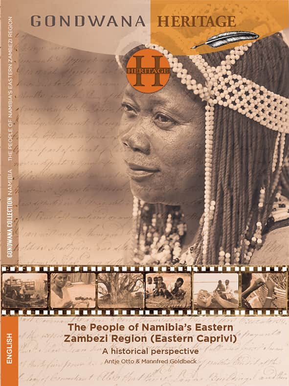 At this year's Windhoek Show Gondwana Collection presents its new book The People of Namibia's Eastern Zambezi Region by Antje Otto and Mannfred Goldbeck.   It is available in the Gondwana hall at the Windhoek Showgrounds or at the Gondwana offices in Klein Windhoek (42 Nelson Mandela Ave, access from Gevers St).    Antje Otto, Mannfred Goldbeck: The People of Namibia's Eastern Zambezi Region (ISBN 979-99916-896-7-8, 250 N$)  Namibia's eastern Zambezi Region, formerly known as East Caprivi, is home to the BaSubiya, BaYeyi, MaFwe, MaFwe-MaMbalangwe, HaMbukushu, MaTotela and Khwe people. Once dominated by foreign rulers such as the BaLozi and MaKololo, as well as different colonial powers, they today proudly represent a unique cultural heritage shaped by their multi-faceted history.   Various traditional crafts are still practiced and supply the demand for most material needs. Many people also possess a profound knowledge of the indigenous plants utilized during building and manufacturing processes or traditional healing practices.   The first issue of 'Gondwana Heritage' presents a compact introduction to this remote and lesser known part of Namibia, its people, history and heritage. It is the first ever published account of the superb crafts produced by the people over generations.