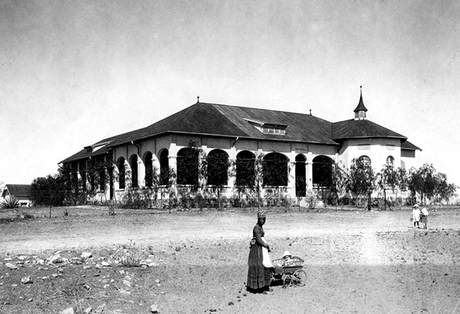 The Elisabeth House used to be a maternity home and was inaugurated in 1908. (Source: National Archives of Namibia)