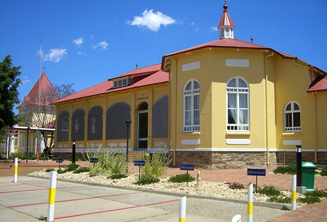 Elisabeth House is now part of the Polytechnic of Namibia.