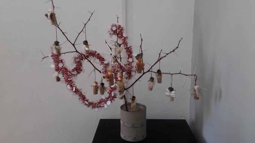 Christmas tree at Gondwana Collection Namibia