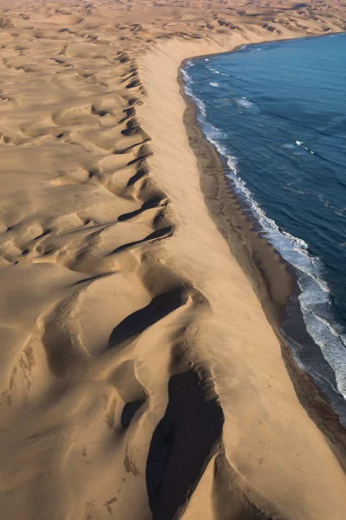 Magnificent sights await where the Namib Desert meets the Atlantic Ocean © Mikkel Beiter
