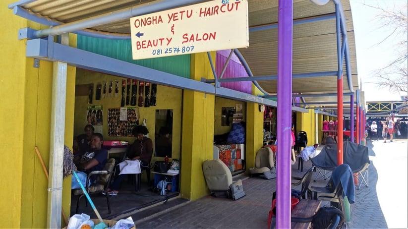 Hair and Beauty Salon at Single Quarters, Katutura