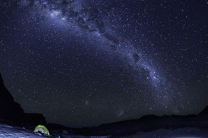 Dive into the dreamy Milky Way in Namibia where atmospheric and light pollution are minimal © Gondwana Collection Namibia