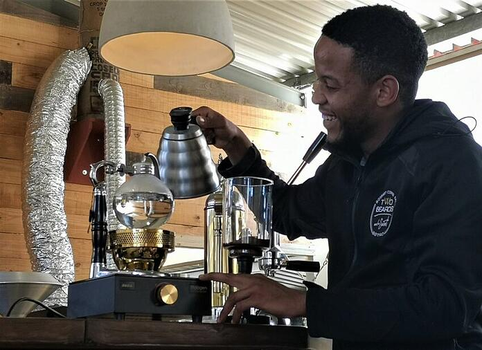 Warm up with a coffee tasting at Two Beards Coffee © Annelien Murray