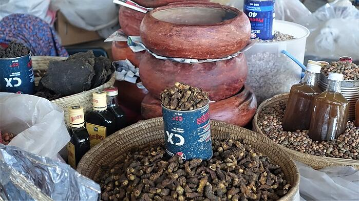 Traditional delicacies for sale