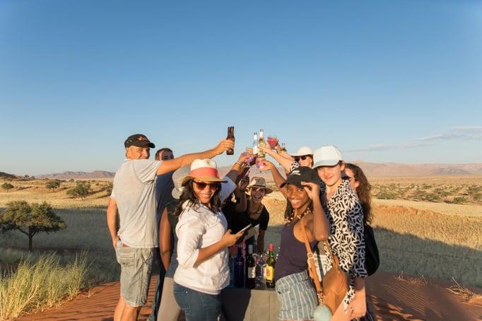 Cheers! ©Gondwana Collection
