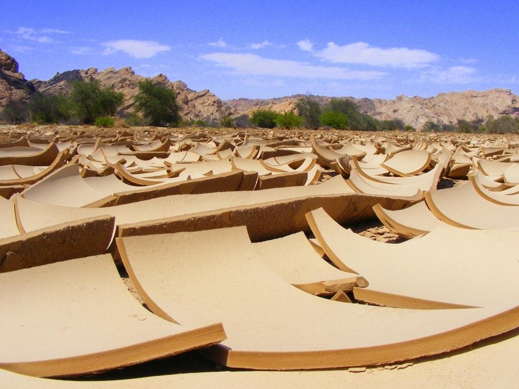 Dry riverbed by Jessie Vermeulen
