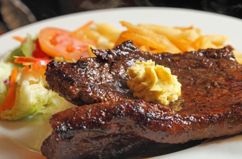 Steak at Joe's Beerhouse