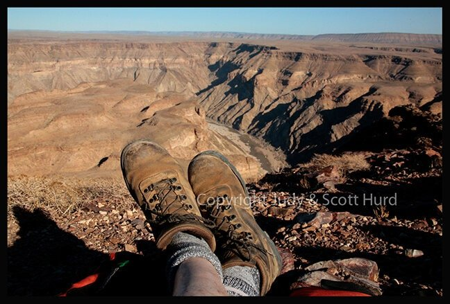 Amazing view of the Fish River Canyon