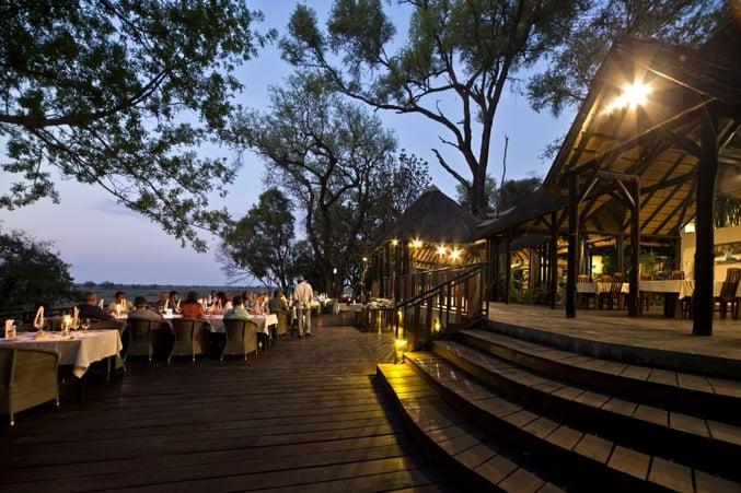 Namushasha River Lodge Restaurant