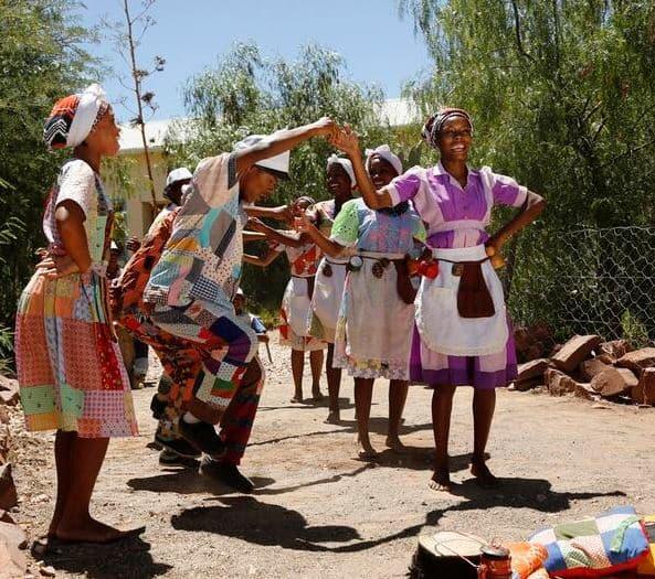 Dancing the Nama Stap