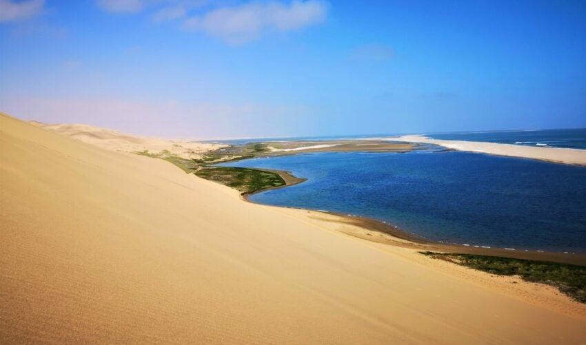 Desert and Ocean
