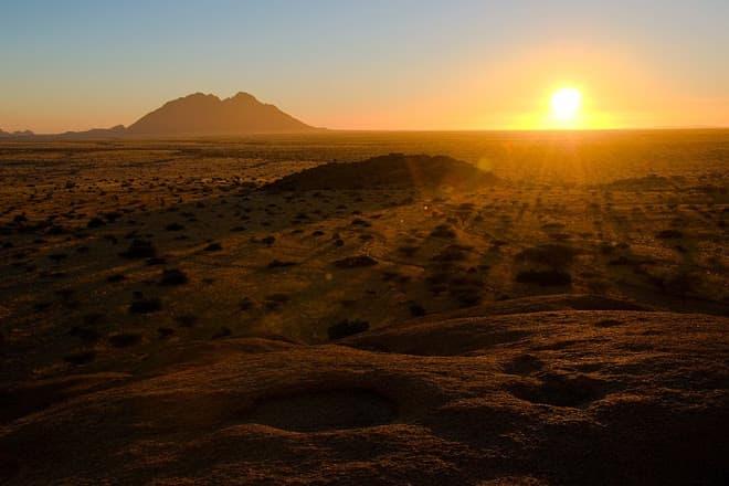 Spitzkoppe Sunset -  Image by Matt Prater