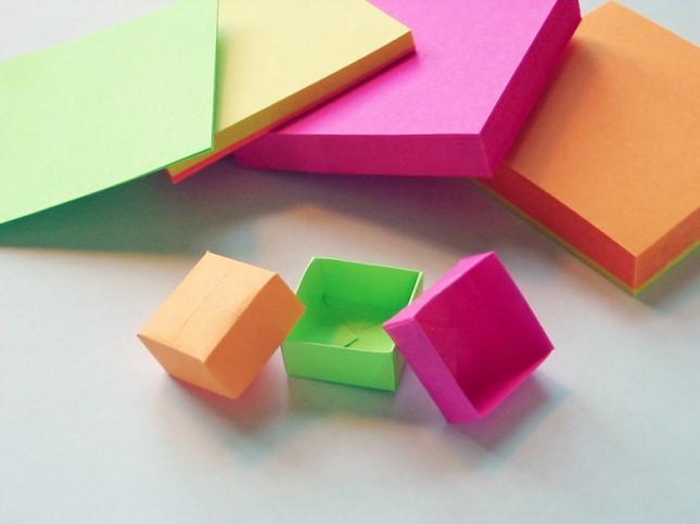 Origami storage - Image:  Brit