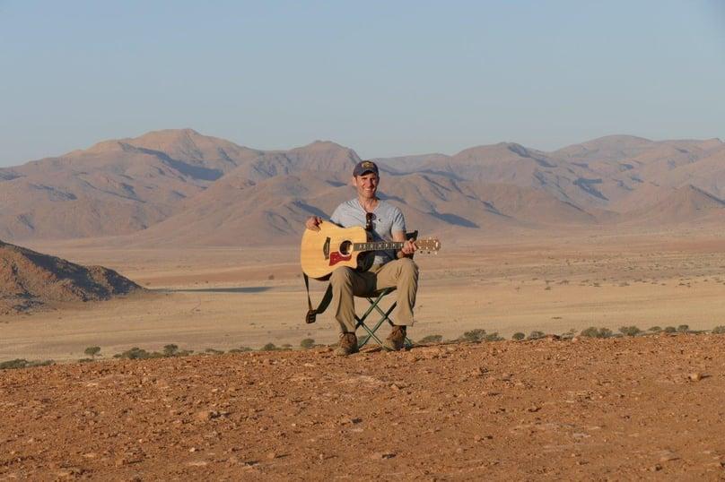 Dave Carroll Namibian landscapes