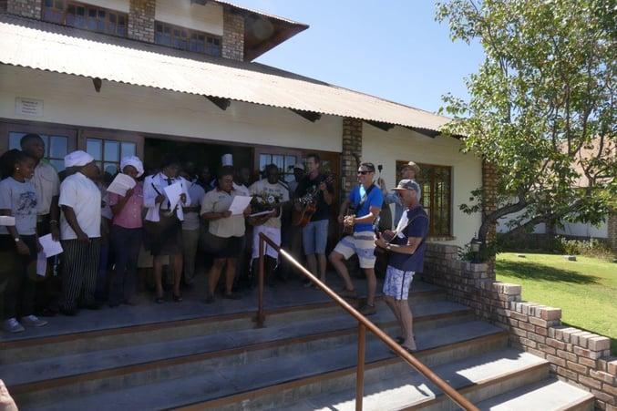 Etosha Safari Lodge and Gondwana