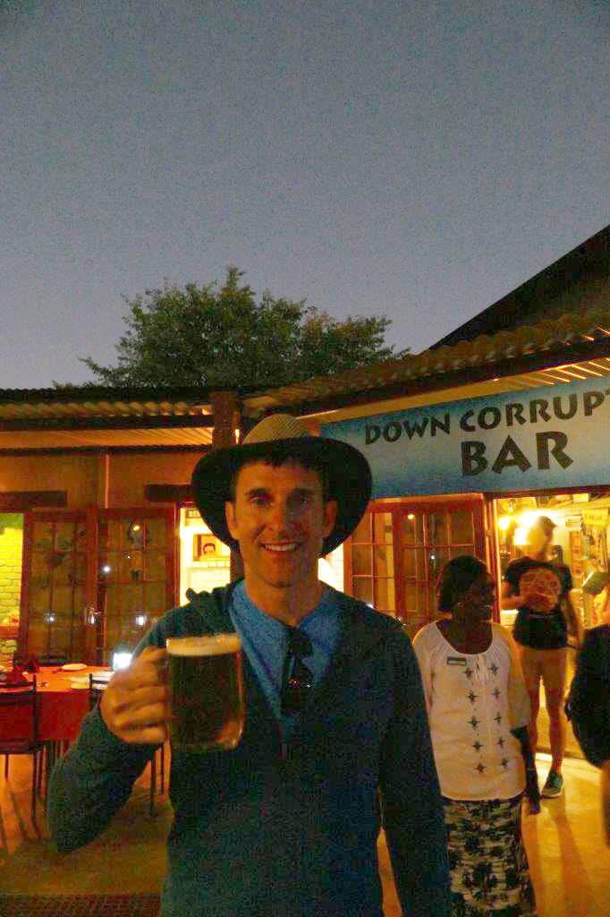 Down Corruption Shebeen Etosha Safari Lodge