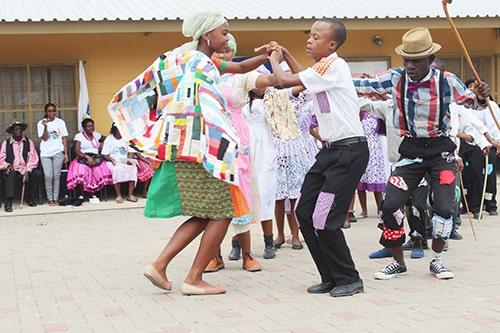 Dancing the Nama Stap, Namibia