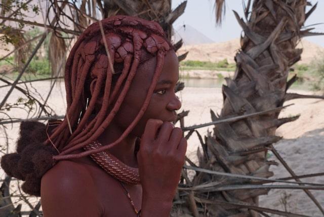 Ovahimba lady by Sabine Kroling