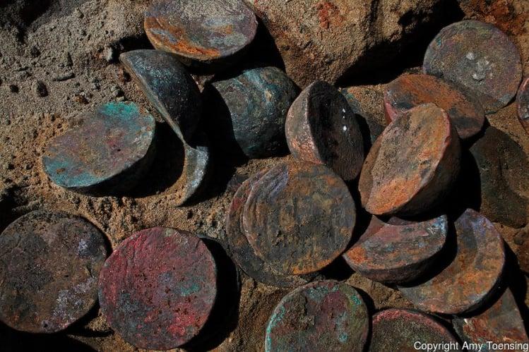 """Copper ingots"" - Image: Amy Toensing"
