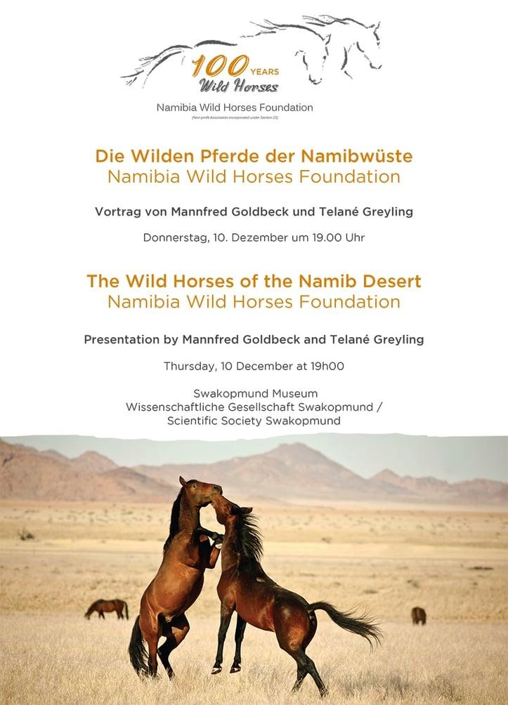 Wild horses presentation invitation
