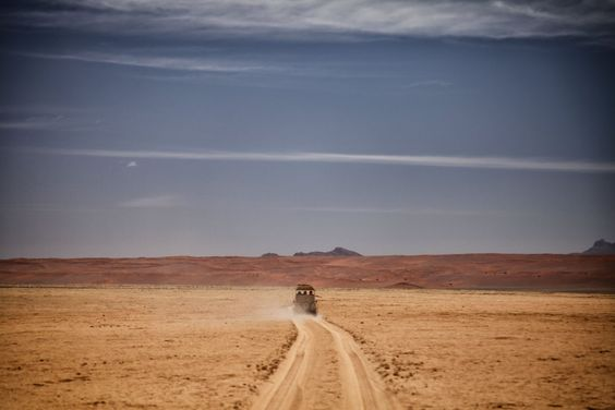 """""""Game drives in Namibia feel like traveling on another planet."""" Rights to The World Pursuit"""