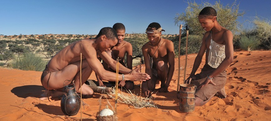 The San people in Namibia - Rights to sunsafaris.com
