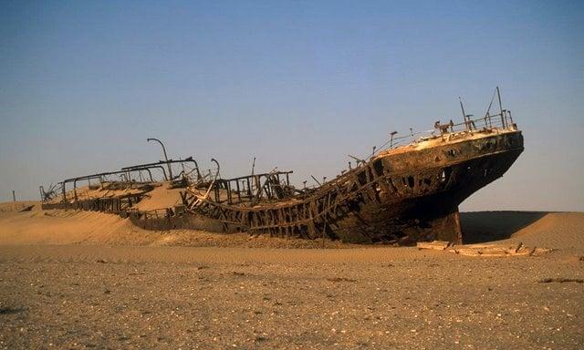 """Trade ships found their tragic demise along our stretch of coast."" Image: buzzhourly.com"