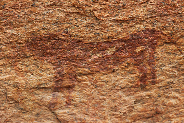 Bushman Rock Art in the Spitzkoppe Mountains - Rights to http://www.istockphoto.com