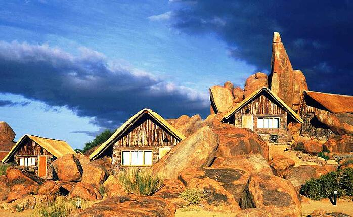 Canyon Lodge was the first of the 12 lodges of the Gondwana Collection