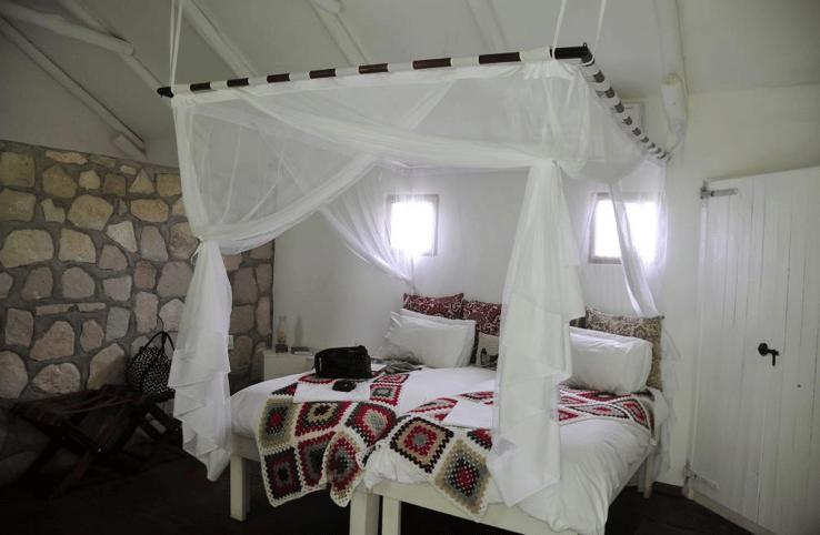 The rooms at the Kalahari Farmhouse
