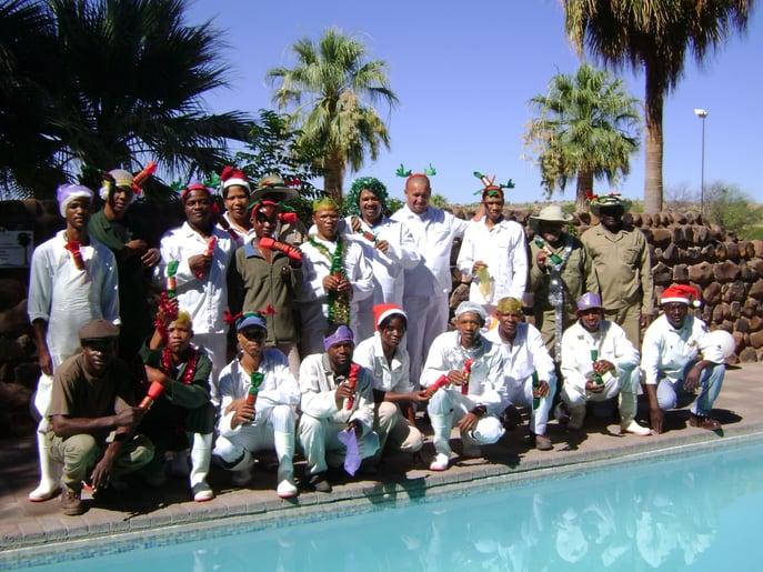 Kalahari Farmhouse Team