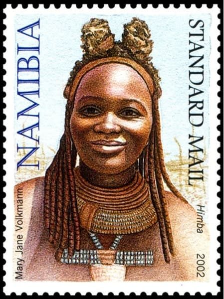 Himba, issued in 2002, artist: Mary Jane Volkmann