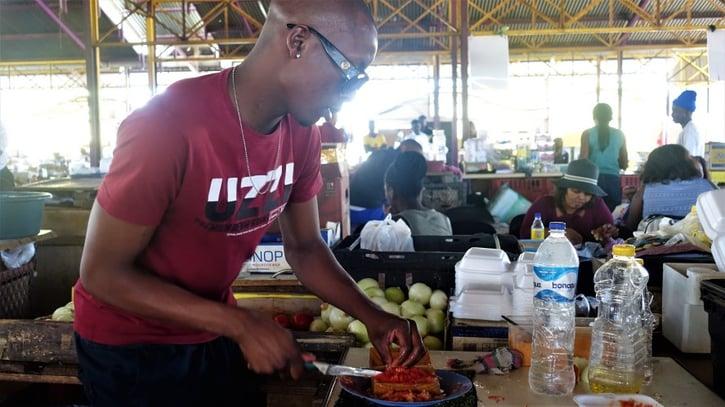 Salsa Chef at Single Quarters, Windhoek, Namibia