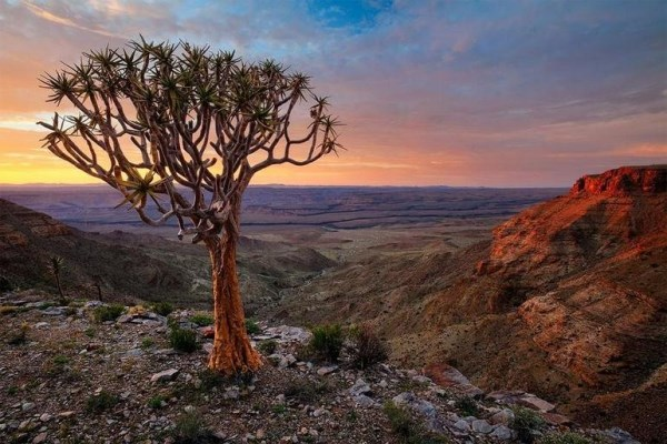 Landscapes of Namibia - Rights to http://travelrew.com